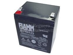 Batería de plomo 12 Voltios 5 Amperios FIAMM 12FGH23