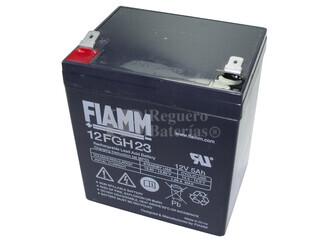 Bateria FIAMM de Plomo 12 Voltios 5 Amperios 12FGH23