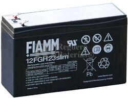 Batería 12 Voltios 5 Amperios Fiamm 12FGH23SLIM