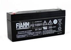 Bateria FIAMM de Plomo 6 Voltios 3 Amperios FG10301