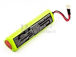 Batería Fluke Ti-10, Ti-20, Ti-25, NiMH, 7,2V, 2500mAh, 18Wh, para polimetros