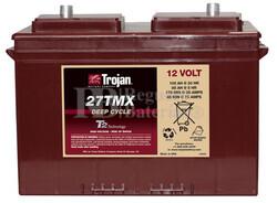 Bateria Fregadora Barredora 12 Voltios 117 Amperios Trojan 27TMX