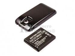 Batería Galaxy Ace 2, Li-ion, para telefonos Samsung, 3,7V, 3000mAh, 11,1Wh, con tapa color negro