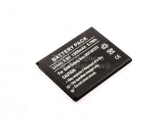 Bateria, Galaxy Ace 3, GT-S7272, para telefonos Samsung, Li-ion, 3,8V, 1500mAh, 5,7Wh
