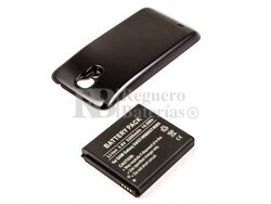 Bateria Galaxy S4, GT-I9500, Li-ion, para telefonos Samsung, 3,8V, 5200mAh, 19,8Wh, with housing, black