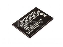 Batería Galaxy S4 Mini, GT-I9190, GT-I9195, para telefonos Samsung, Li-ion, 3,8V, 1900mAh, 7,2Wh