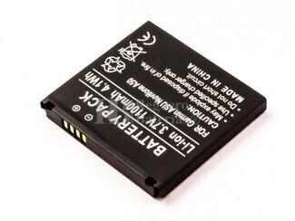 Batería Garmin Asus Nuvifone A50, Li-ion, 3,7V, 1100mAh, 4,1Wh