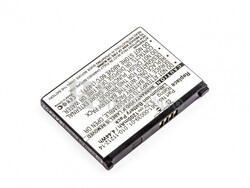 Batería Garmin Asus nüvifone G60, Li-ion, 3,7V, 1200mAh, 4,4Wh