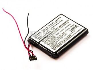 Batería Garmin Edge 205, Edge 500, Li-ion, 3,7V, 600mAh, 2,2Wh