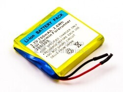 Bater�a Garmin Forerunner 205, 305, Li-ion, 3,7V, 700mAh, 2,6Wh