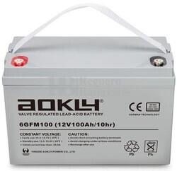Batería 12 Voltios 100 Amperios Aokly 6GFM100