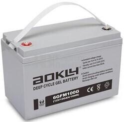 Batería Gel 12 Voltios 100 Amperios Aokly 6GFM100G