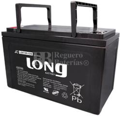 Batería Gel 12 Voltios 100 Amperios Long LGK100-12N