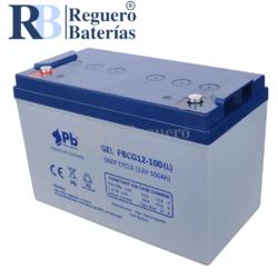 Batería Gel 12 Voltios 100 Amperios PBCG12-100L