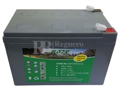 Batería Gel 12 Voltios 12 Amperios Haze EV12-12