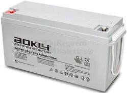 Batería Gel 12 Voltios 150 Amperios Aokly 6GFM150G