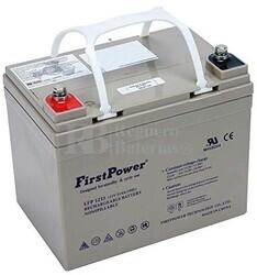 Batería Gel 12 Voltios 33 Amperios FP1233G-LFP