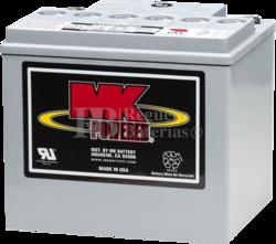 Batería MK M4012SLD-G 12 Voltios 40 Amperios Gel