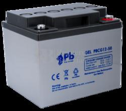 Batería Gel 12 Voltios 50 Amperios PBCG12-50
