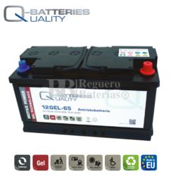 Batería Gel 12 Voltios 65 Amperios Ciclo Profundo 12GEL-65