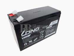 Batería Gel 12 Voltios 7 Amperios Long LG7-12