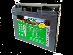 Batería GEL Carrito de Golf 12 Voltios 18 Amperios HAZE HZY-EV12-18