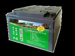 Batería GEL Carrito de Golf 12 Voltios 26 Amperios HAZE HZY-EV12-26