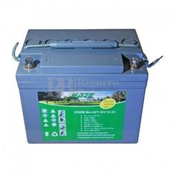 Batería GEL Carrito de Golf 12 Voltios 33 Amperios HAZE HZY-EV12-33