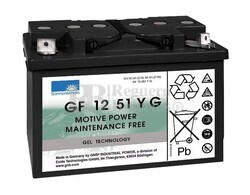 Batería Gel Sonnenschein Dryfit GF12051YG1 12V 56A