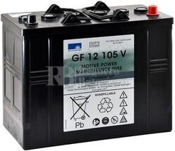 Batería Gel Sonnenschein Dryfit GF12105V 12V 120A