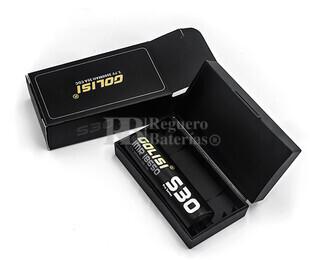 Batería Golisi S30 18650 3.000 mAh 25 Amperios CDR