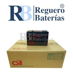 6 Baterías GP12120F2 12V 12A