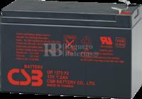 Batería Grúa Elevadora 12 Voltios 7,2 Amperios GP1272