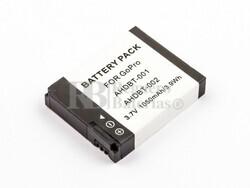 Bateria HD Hero, Li-ion, 3,7V, 1050mAh, 3,9Wh para camaras GOPRO