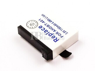 Bateria Hero 4, Li-ion, 3,8V, 1160mAh, 4,4Wh para camaras GOPRO