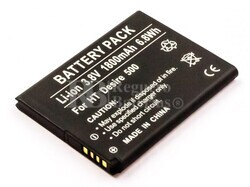 Bater�a HTC Desire 500, Li-ion, 3,8V, 1800mAh, 6,8Wh, with decoding chip