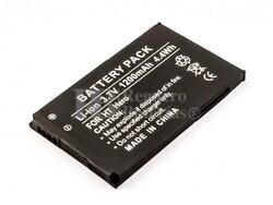 Batería HTC Hero, Li-ion, 3,7V, 1200mAh, 4,4Wh