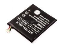Batería HTC One S, Li-Polymer, 3,7V, 1650mAh, 6,1Wh