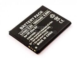 Batería HTC One SV, Li-ion, 3,8V, 1800mAh, 6,8Wh