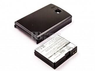 Bater�a HTC Touch HD, Li-Polymer, 3,7V, 2700mAh, 10,0Wh, with housing, black