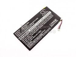 Batería para Huawei MediaPad S7-301u, Li-Polymer, 3,7V, 4000mAh, 14,8Wh