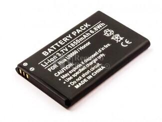 Bater�a Huawei U8860, Honor, Li-ion, 3,7V, 1850mAh, 6,8Wh