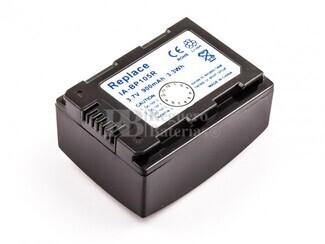 Bateria IA-BP105R, para camaras Samsun, Li-ion, 3,7V, 900mAh,