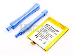 Batería iPod Touch 2nd generation, Li-Polymer, 3,7V, 1000mAh, 3,7Wh, para MP3, MP4 Apple