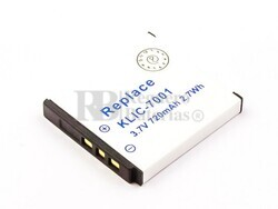 Batería KLIC-7001 para Kodak, Benq L1050, E1220T, E1220, E1050T, E1050,EASYSHARE V705, EASYSHARE V610