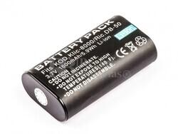 Batería KLIC-8000 para camaras Kodak,ZX1, EASYSHARE Z885, EASYSHARE Z8612 IS, Ricoh Caplio
