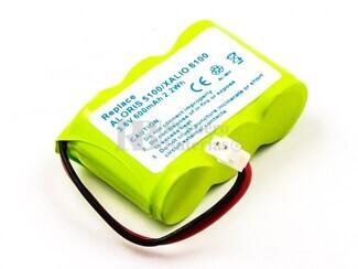 Batería larga duración para teléfonos inalámbricos Philips, Alcatel, Ascom, Telecom