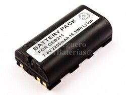 Batería Leica GEB211, Li-ion, 7,4V, 2200mAh, 16,3Wh, black