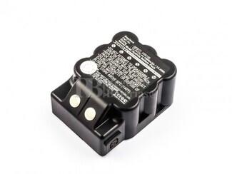 Batería para Leica GEB77, NiMH, 12V, 1200mAh, 14,4Wh