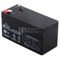 Batería AGM 12 Voltios 1.2 Amperios  LEOCH LP12-1.2